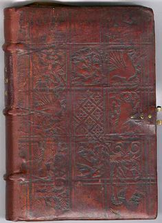 Garrett Godfrey GESTA Romanorum Paris: 1515 [Al-f.15] Front board (British Bookbinding)