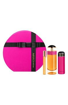 Such a cute gift set! Prada Candy fragrance.