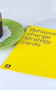 """Artefact's """"Behavior Change Strategy Cards."""" This set of 23 cards was crafted to help designers, researchers, and anyone facing a behavior change challenge, think through strategies to nudge people toward positive behavioral outcomes."""