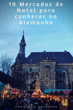 10 Mercados de Natal para você conhecer na Alemanha, com calendário 2017 atualizado. Conheça os melhores mercados de Natal da Alemanha.