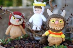 Where the Wild Things Are free crochet pattern.