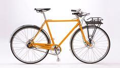 Shinola Runwell Dark Orange