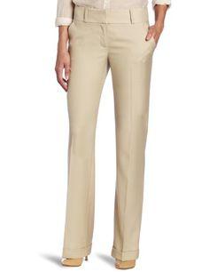 Anne Klein Women`s Menswear Inspired Wide Leg Pant $40.12