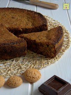 torta di pangrattato cioccolato e amaretti gp