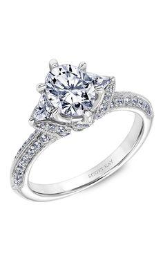 Shop Scott Kay 31-SK5601FVP-E Engagement rings | Bailey Banks & Biddle