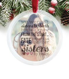 Customizable Photo Ornament Gift for under $25 | PaperRamma