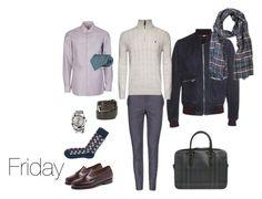 """friday"" by masha-yasenetskaya on Polyvore featuring Dolce&Gabbana, G.H. Bass & Co., Luigi Borrelli, Brioni, Burberry, Canali, Kiton, mens, men и men's wear"