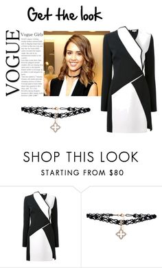 Get the look with Latelita Lace Choker by latelita on Polyvore featuring Thierry Mugler