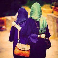 Find images and videos about friends, islam and hijab on We Heart It - the app to get lost in what you love. Islamic Fashion, Muslim Fashion, Hijab Fashion, Modest Fashion, Style Fashion, Hijab Niqab, Mode Hijab, Muslim Hijab, Hijab Outfit