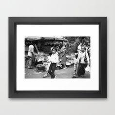 #Indonesian #Market Framed Art #Print