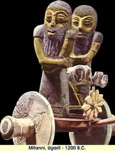 Mitanni artifact from Ugarit, 1200 BCE. The Mitanni dynasty ruled over the northern Euphrates-Tigris region between c. 1475 BCE and c. 1275 BCE. While the Mitanni kings were Indo-Iranians, they used the language of the local people which was at that time a non Indo-Iranian language, Hurrian. The Kingdom of Mittani was known to the people of the land, and the Assyrians, as Hanigalbat and to the Egyptians as Naharin and Metani.