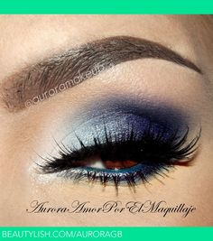 Blue for Brown Eyes | Maquillateconaurora G.'s (AuroraGB) Photo | Beautylish