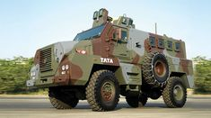 Mine Protected Vehicle developed by Tata Motors