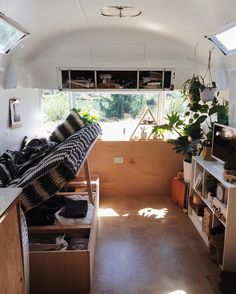 When your living space is under 200 square feet, creative storage spaces are incredibly important. When your living space is under 200 square feet, creative storage spaces are incredibly important. Architecture Renovation, Home Renovation, Home Remodeling, Van Living, Tiny House Living, Living Spaces, Airstream Remodel, Airstream Interior, Vintage Airstream