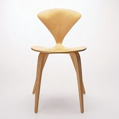 Cherner Side Chair - white laquer