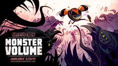 Monster Volume Book Launch! by CreatureBox.deviantart.com on @deviantART