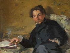 Édouard Manet - Stéphane Mallarmé, 1876