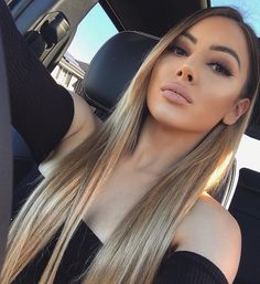 Online Shop Ombre hair color sew in human hair bundles and closure and frontal for brunettes colored hair for black off promotion factory cheap price,DHL worldwide shipping, store coupon available. Corte Y Color, Ombre Hair Color, Balayage Hair, Haircolor, Gorgeous Hair, Hair Looks, Hair Trends, Dyed Hair, Brown Hair