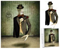 Photomontage Illustration - Marnus Nagel, 2012 Media Design, Photomontage, Student Work, School Design, Creativity, Animation, Digital, Illustration, Fictional Characters