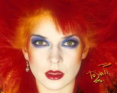 Toyah Wilcox has tangerine hair! #sephoracolorwash