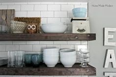 6 Great Looks for Open Shelving--Which One's For You?: Open Shelves for Every Taste