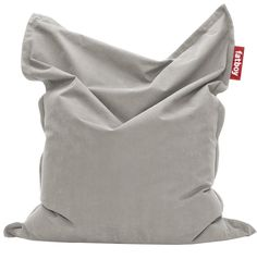 Original Stonewashed Bean Bag Silver Grey by Jukka Setälä for Fatboy