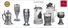 Сувенирная продукция Elenpipe - курительные трубки, шашки, шахматы, нарды - Подарки сувениры Artina SKS - Ассортимент оловянных изделий австрийского производителя оловянной посуды