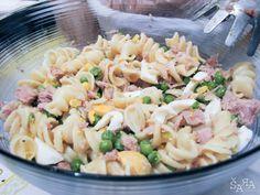 Salada Fria de Massa com atum