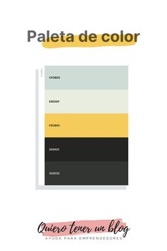 Flat Color Palette, Colour Pallete, Color Schemes, Pretty Notes, Good Notes, Paleta De Color Hexadecimal, I Love Mondays, Hex Color Codes, Banner Letters