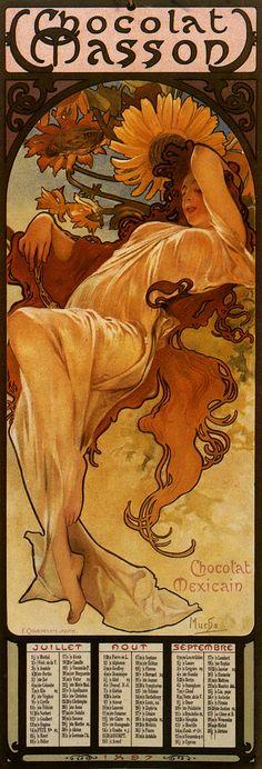 Eté. Alfons Mucha.