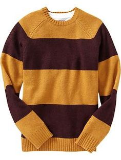 Looks like Old Navy finally came out with their Harry Potter line! :D Will be using my discount for these lol -- Men's Color-Blocked Wool-Blend Sweaters | Old Navy