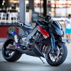 Customized Kawasaki Z1000