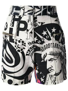 GIANNI VERSACE VINTAGE Patterned Shorts