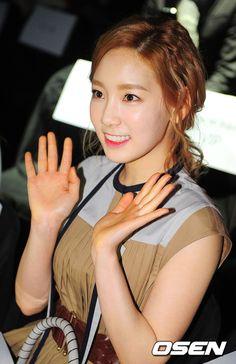[사진] 태연,'홍혜진선생님 컬렉션 왔어요' / OSEN / April 4, 2012 / #Taeyeon #SNSD