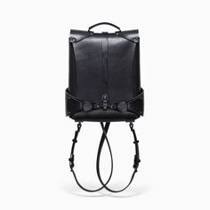 handmade vegetable tanned leather backpack teo-ng paris