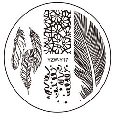 Aliexpress.com : Buy YZW Y 2017 Lace Flower Leopard Stamping Nail Art Image Plate 5.6cm Stainless Steel Template Polish Manicure Stencil Tools from Reliable nail manicure tools suppliers on Angelia Nail Art Store