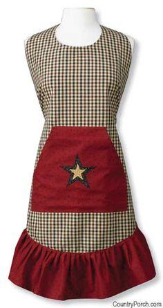 Federal Star Prairie Apron
