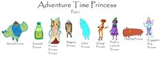 Adventure Time Princesses Part 1