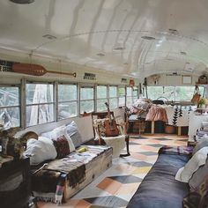 A remarkable school bus conversion is often known as a skoolie. With housing costs rising, a school bus conversion seemed Read more. Buy A School Bus, School Bus House, Bus Living, Tiny House Living, Living In A Camper, Camping Con Glamour, Converted Bus, Kombi Home, School Bus Conversion