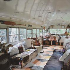 School bus home