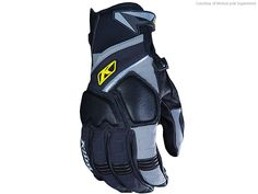 Motorcycle Gift Guide 2014: Gloves - Motorcycle USA_ Poron XDR impact protection on knuckles