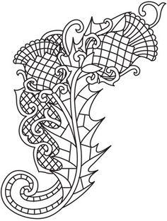 Blackthorn Spray design (UTH5734) from UrbanThreads.com