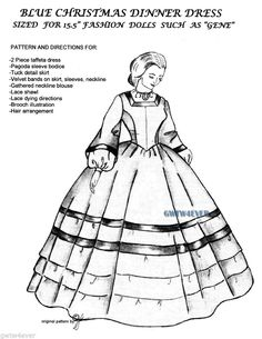 Pin by Jeanny R's on Barbie Sewing Patterns at Jeanny's