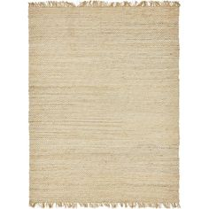 Unique Loom Braided Jute Assam Natural 0 x 0 Area Rug 3138918 - The Home Depot