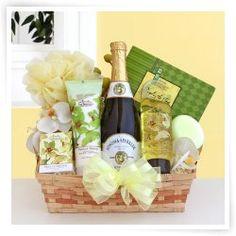 Sparkling Orchid Sensation Gift Basket