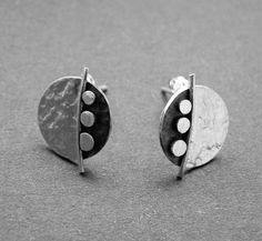 Hey, I found this really awesome Etsy listing at https://www.etsy.com/listing/86125300/sterling-silver-disc-studs-sd3