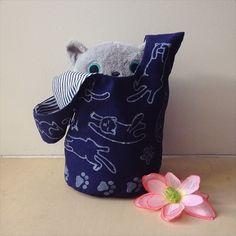 Детская сумка-мешок своими руками