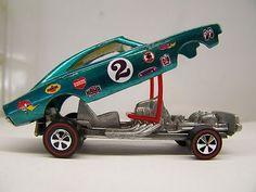 Redline - Hot wheels Custom Charger Dragster