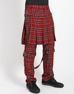 Banned Pantaloni Steam Punk STRIPES malvagia Gothic Punk Rock Pant S-XXL #3152 577