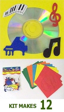 CD Sleeve Kit. Hold your troops jams in this decorative CD Sleeve! Available at MakingFriends.com